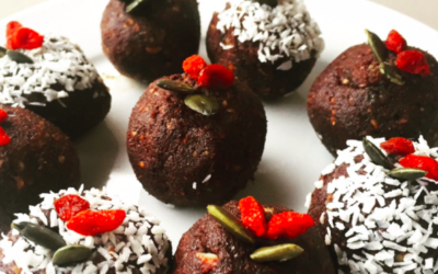 Getting festive with Bliss Balls
