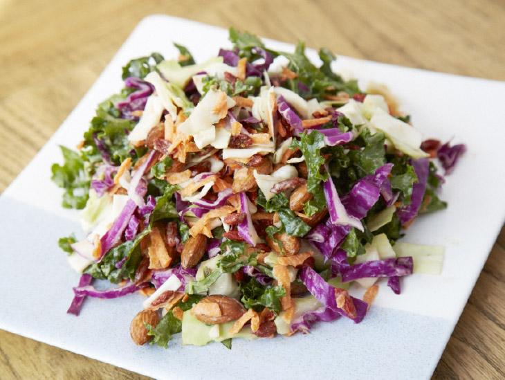 Raw Rainbow Salad