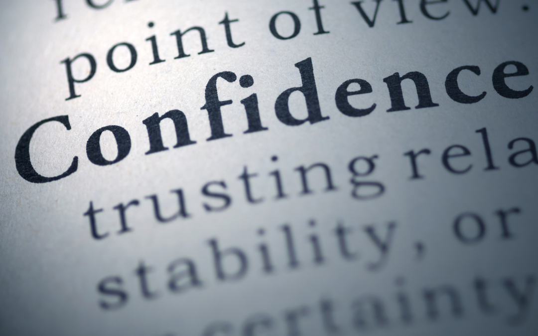 What does it mean to be confident?